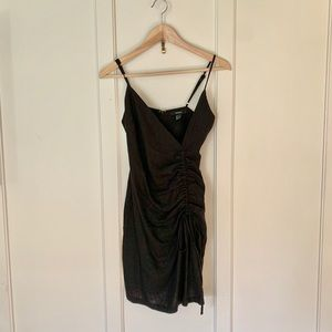Forever 21 ruched dress